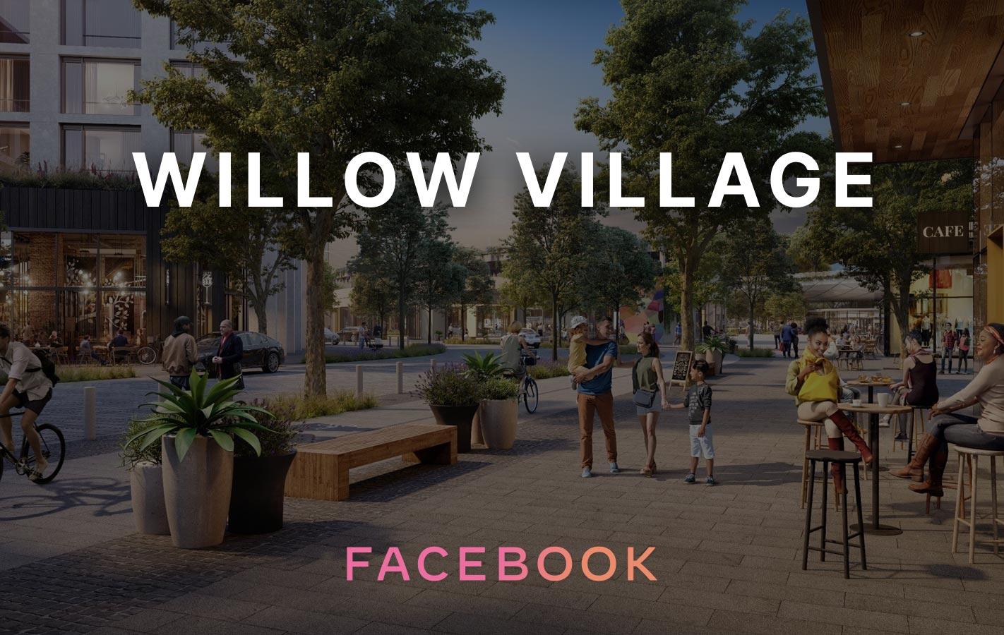 Facebook Willow Village