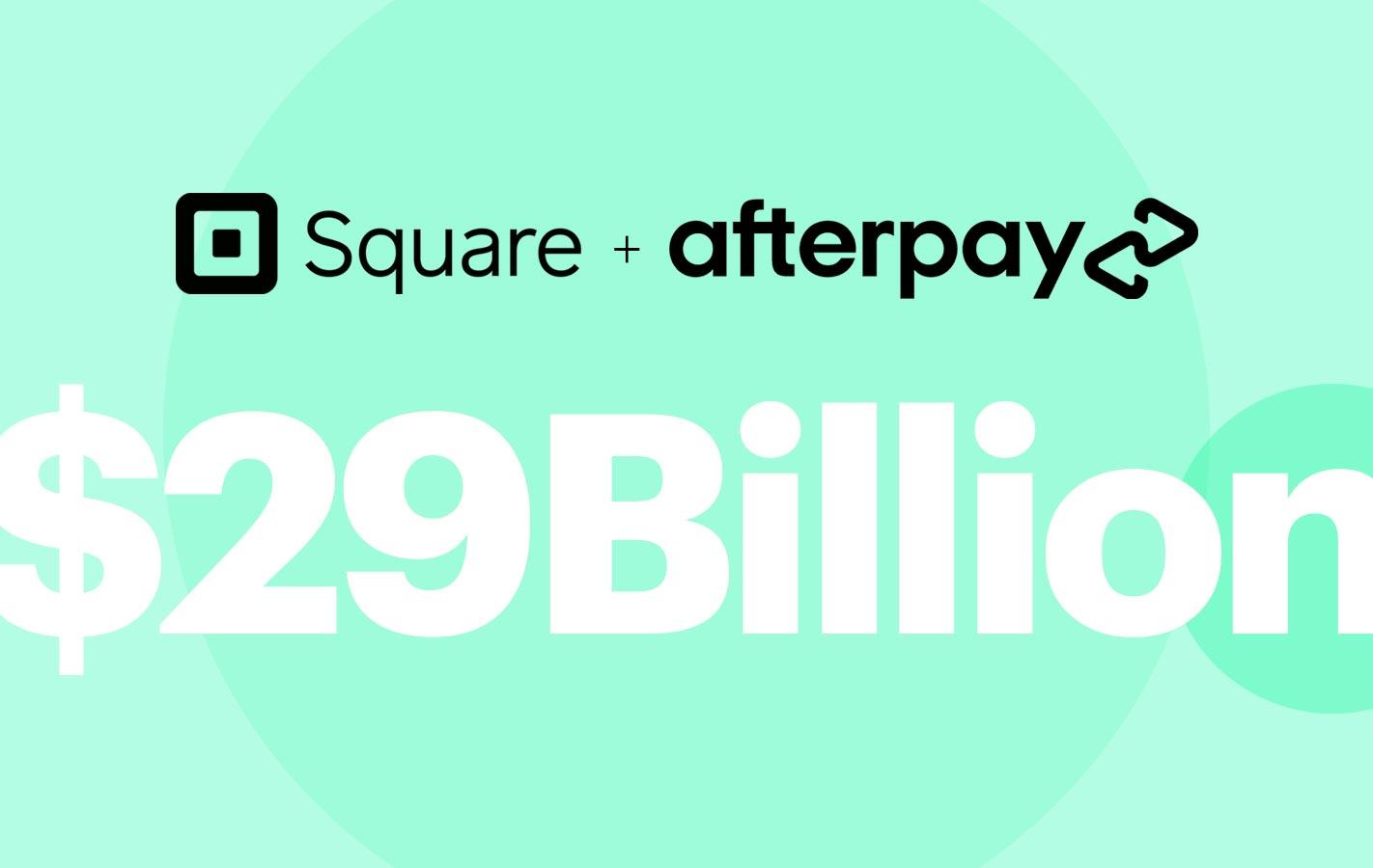 square + afterpay 29Billion